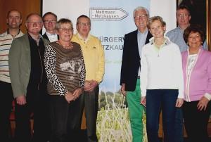 Bürgerverein Hauptversammlung März 2017 Vorstand kompakt